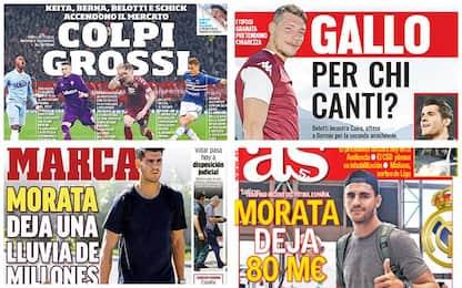 Calciomercato, la rassegna stampa di oggi