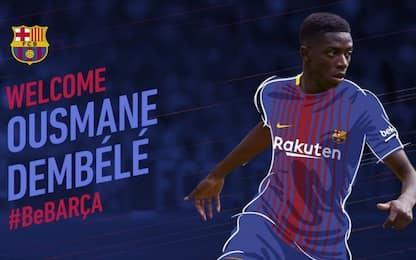 Barcellona, ufficiale Dembélé: 105 mln al Dortmund