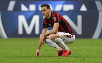 Milan, Kalinic out. Rodriguez in gruppo