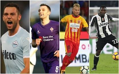 Occasioni della Serie A: gli svincolati da giugno