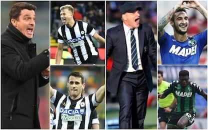 Udinese e Sassuolo, ecco chi piace alle big