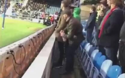 Urina nella borraccia del portiere QPR: arrestato