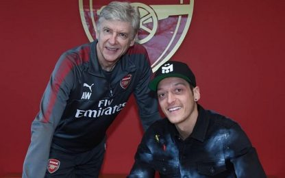 Ancora Gunners: Ozil rinnova con l'Arsenal