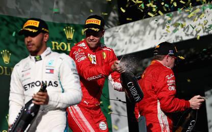 Vettel, Hamilton e Kimi: 310 podi in tre ma...