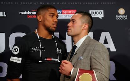 Joshua superstar, con Parker sarà una battaglia