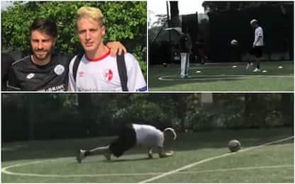 Milan, Conti torna a lavorare con il pallone