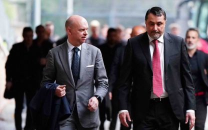 """Uefa boccia Milan. Fassone: """"Danno d'immagine"""""""