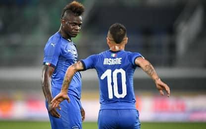 Mancini ok, Italia-A. Saudita 2-1. Balotelli gol