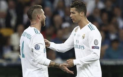 "Ramos: ""CR7, siamo con te ma fai retromarcia"""