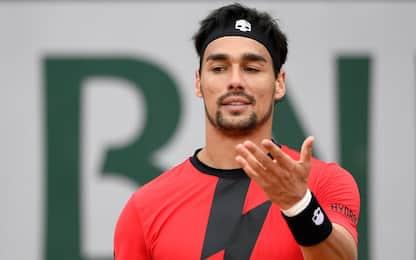 Roland Garros, Fognini al 2° turno. Bolelli ko