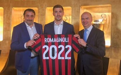 Milan, ufficiale il rinnovo di Romagnoli