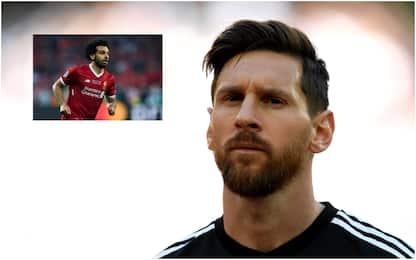 """Messi consiglia il Barça: """"Prendiamo Salah"""""""