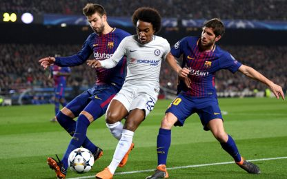 Barça, assalto per Willian. Quintero piace al Real