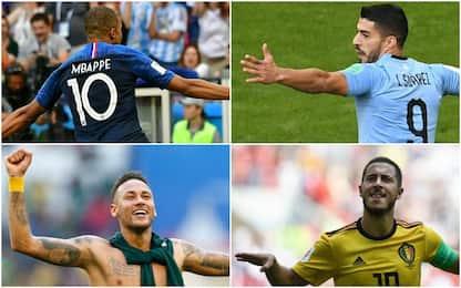 Mondiali ai quarti: le partite del 6 luglio