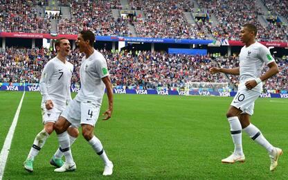 Muslera condanna l'Uruguay, Francia in semifinale