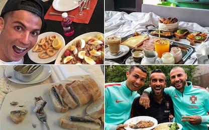 Cosa mangia Cristiano Ronaldo: la dieta di CR7