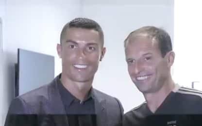 """Ronaldo incontra Allegri: """"Sono pronto a giocare"""""""
