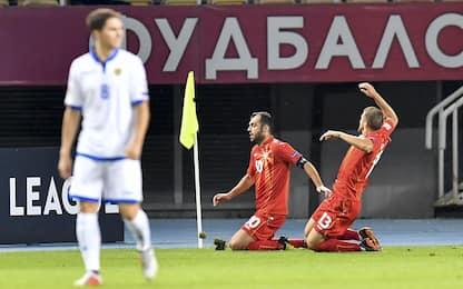 Nations League, Eriksen e Pandev gol: i risultati