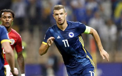 Nations League, gol di Dzeko e Manolas