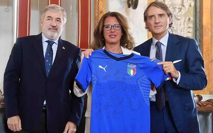 """""""Genova nel cuore"""", maglia speciale per l'Italia"""