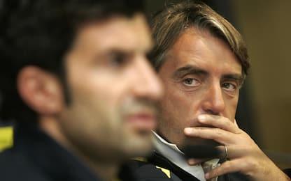 """Figo: """"Mancini? All'Inter mi ha umiliato"""""""