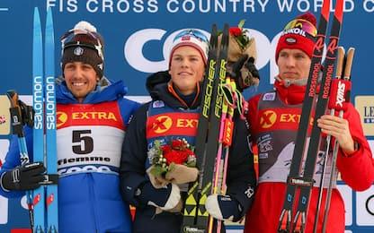 Tour de Ski, De Fabiani 2° in Val di Fiemme