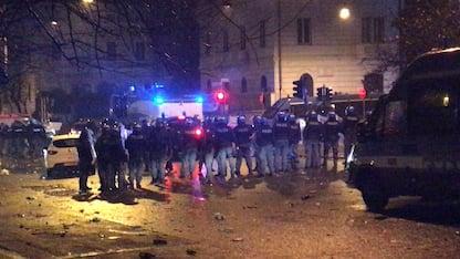 Lazio, scontri a festa per i 119 anni: 1 arresto