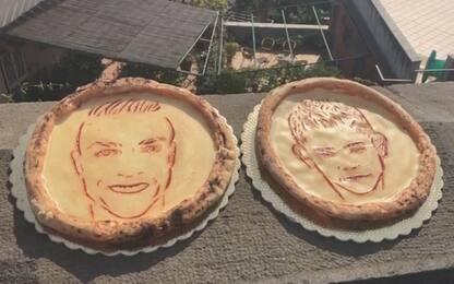 Napoli, spunta la pizza Ronaldo