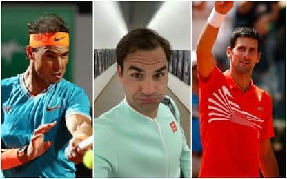 Roma: Nadal, Federer e Djokovic volano ai quarti