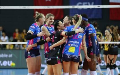 Volley, Novara vince Champions: Conegliano ko