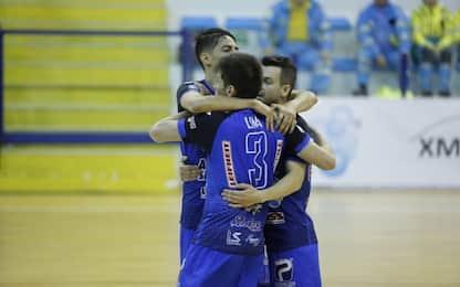 Calcio a 5, Acqua e Sapone in finale: Napoli ko