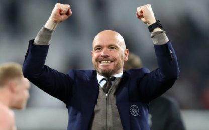 Ajax-Ten Hag, ufficiale il rinnovo fino al 2022