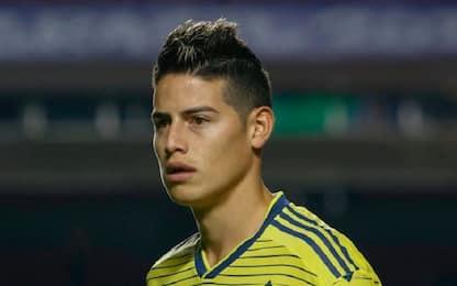 """James Rodriguez: """"A Napoli mi troverei bene"""""""