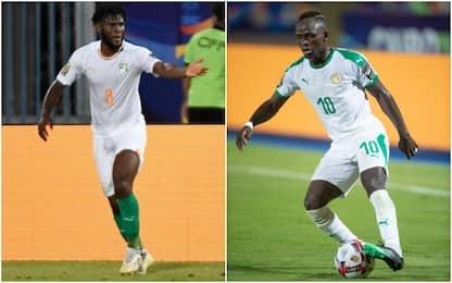 Kessié-Mané show, Costa d'Avorio e Senegal avanti