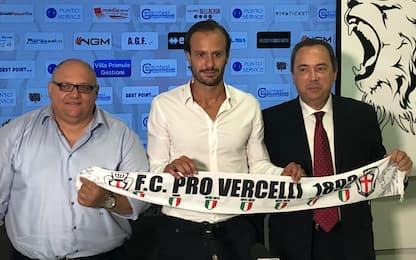 """Pro Vercelli, Gilardino: """"Mi piace fare i fatti"""""""