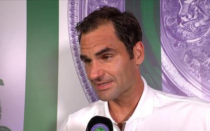 """Federer: """"Che battaglia con Rafa, sono esausto"""""""