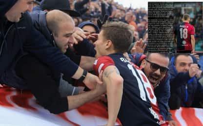 """L'addio di Barella: """"Cagliari il mio sogno"""""""