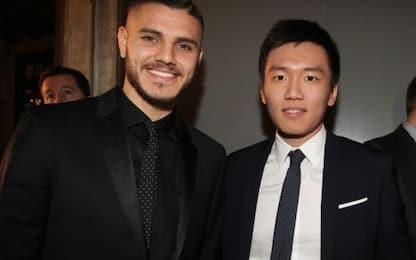 """Zhang: """"Grati a Icardi. Voglio l'Inter al top"""""""