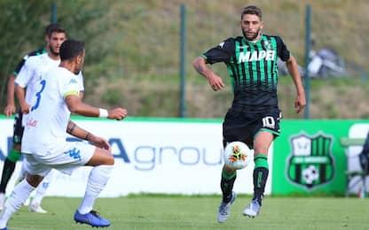 Il Sassuolo convince, 1-0 all'Empoli con Berardi