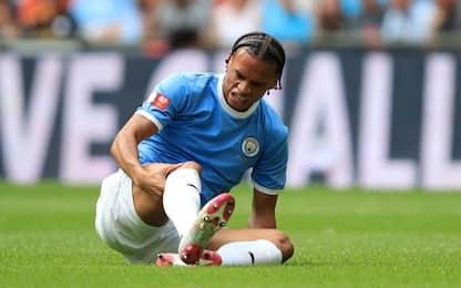 Sané, infortunio al crociato: addio Bayern