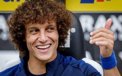 Arsenal, ufficiale l'acquisto di David Luiz