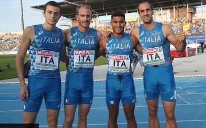 Europei a squadre: Italia 4^, mai così bene
