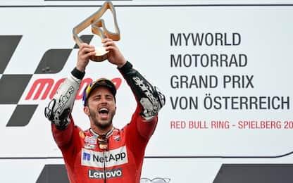 Austria show, vince Dovi! Marquez 2°, Rossi 4°