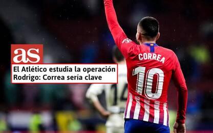 As: Atletico deve far cassa con Correa. Il Milan…