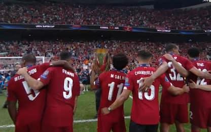 Liverpool, brividi You'll Never Walk Alone. VIDEO