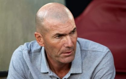 "Zidane: ""James è in forma. Contento di averlo"""