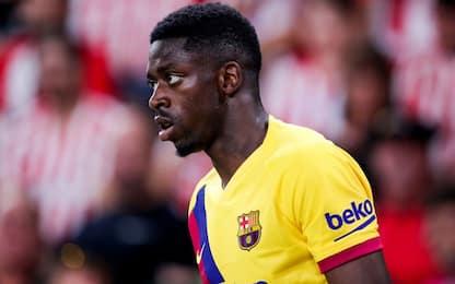 Neymar-Barca, il ko di Dembélé complica i piani