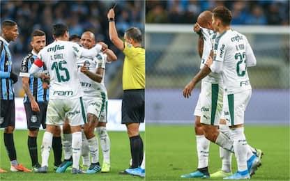 """Palmeiras, Felipe Melo vede """"rosso"""" e piange"""