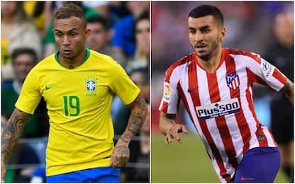 Milan, lavori in corso per Everton e Correa