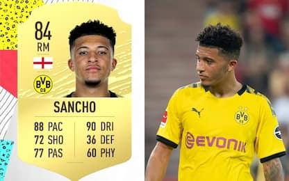 """""""Solo 77 nei passaggi?"""". Anche Sancho attacca FIFA"""